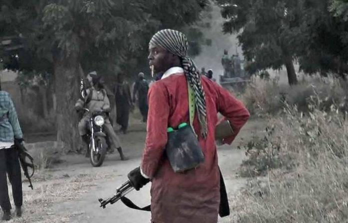 Suspected terrorists attack Borno town, cart away gun trucks