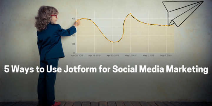 5 ways to use jotforms for social media marketing